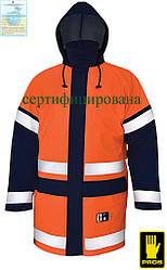 Куртка влагозащитная антистатическая огнезащитная рабочая AJ-KWAT500 PG