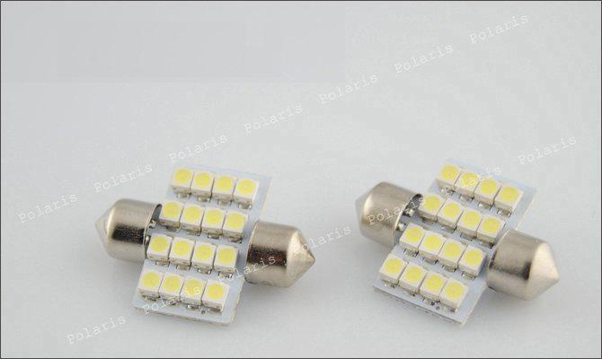 Лампа 16 LED салона, номера, бардачка (DA31)