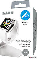 Подставка для Apple Watch Laut AW-Stand Silver