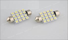Лампа 16 LED салона, номера, бардачка (DA39)