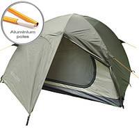 Палатка двухместная, намет двомісний Mousson Delta 2 AL Khaki