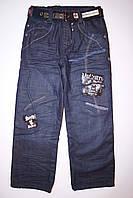 Детские зимнее джинсы для мальчика , фото 1