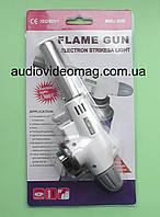 Газовая горелка-пистолет с пьезоподжигом