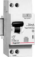 Дифференциальный автомат Legrand RX3 1P+N C 32A 30mA AC 419402