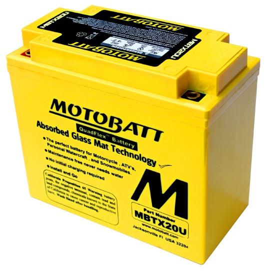 Аккумулятор Motobatt MBTX20U