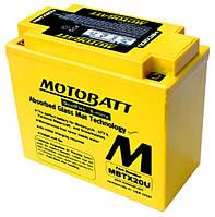 Аккумулятор Motobatt MBTX20U, фото 1