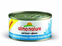"""Консервы Almo NatureClassic с """"Океанической рыбой 75%"""" (консервы для котов и кошек) 70 г"""