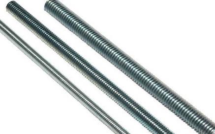 Шпильки резьбовые с левой резьбой DIN 975, класс прочности 8.8
