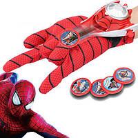 Игровой набор Перчатка Человека Паука с дискометом