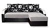 Угловой диван Гранада №1 с закругленными подлокотниками