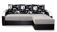 Угловой диван Гранада №1 с закругленными подлокотниками, фото 1