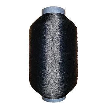 Нитка полиамидная обувная 0,66мм 29 текс 2х3 черная - 250 грамм