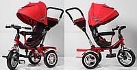 Велосипед 3-х колесный , надувные колеса, поворачивающееся сиденье, складной козырек