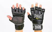 Перчатки для смешанных единоборств MMA Everlast 4402: размер L, кожа, фото 1