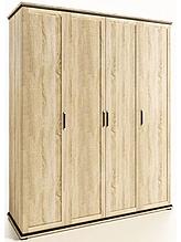 Шафа з ДСП/МДФ в спальню 4Д Палермо дуб сонома Світ Меблів
