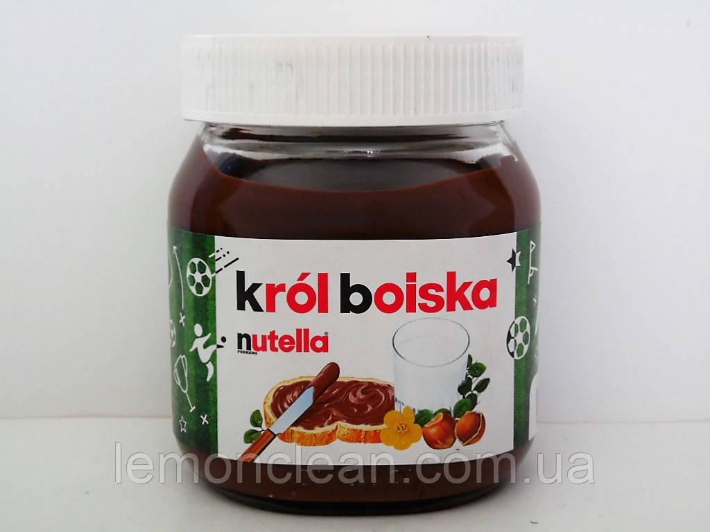 Шоколадно-ореховая паста Nutella krol boiska 350г