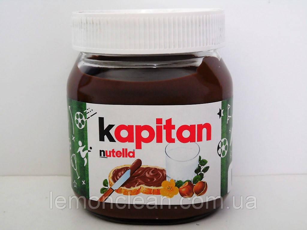 Шоколадно-ореховая паста Nutella kapitan 350г
