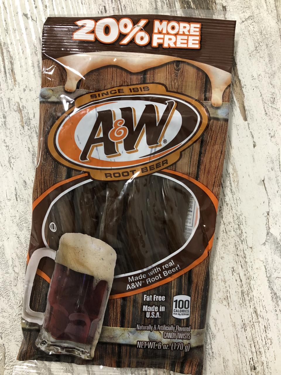 TWIZZLERS конфеты со вкусом пива