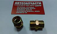 Соединитель резьбовой трубки пластиковой М18х1.5 - М18х1.5