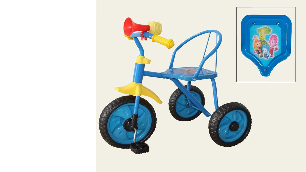 """Велосипед 3-х колесный с клаксоном """"Фиксики"""""""