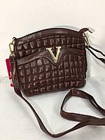 Сумочка Versace коричневая 8031
