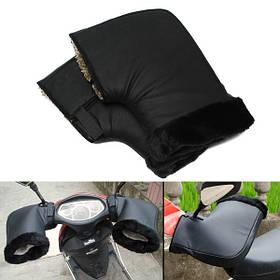 Водонепроницаемы мотоцикл Зимние теплые защитные рулевые муфты Перчатки - 1TopShop
