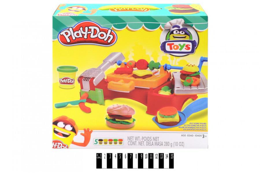 Набор для творчества Барбекю для пикника РD8608 Play-Doh, Плей до, мас