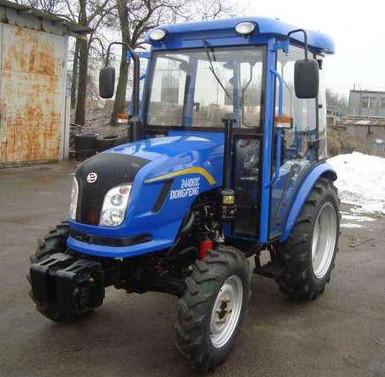 Трактор с кабиной DongFeng 244DHXC
