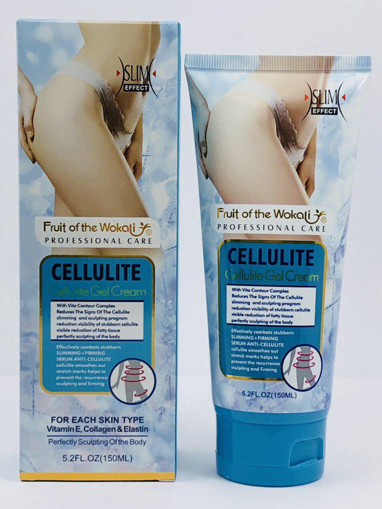 Антицеллюлитный крем Wokali Cellulite Gel Cream