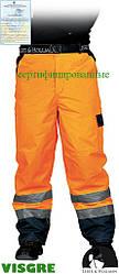 Утепленные защитные брюки до пояса, изготовленные из флуоресцентной ткани LH-VIBETRO P