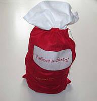 Мешок для подарков SANTA, большой, 94*50 см. сост. Отличное!