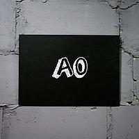Меловая доска форматом А0 горизонтальная