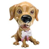 Фигурка собачка лабрадор «Сенди» h-12 см.