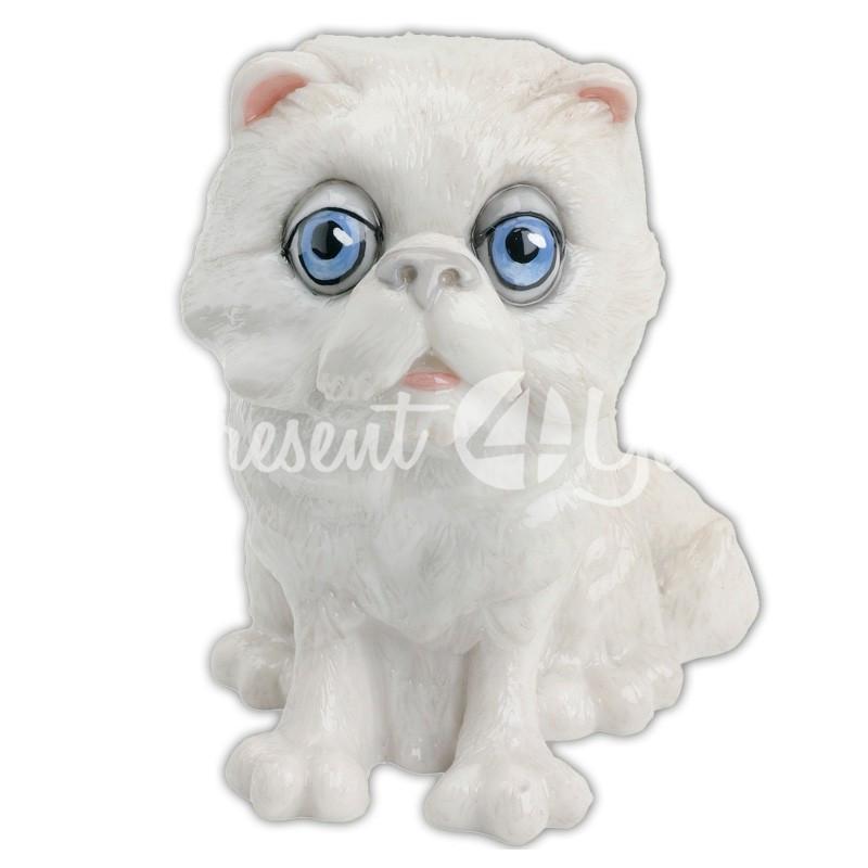Фигурка-статуэтка коллекционная с керамики кошка «Шеба» Англия, h-10 см