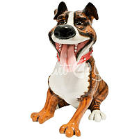 Фигурка-статуэтка собачка «Тайсон» коллекционная из керамики  Англия, h-20 см.