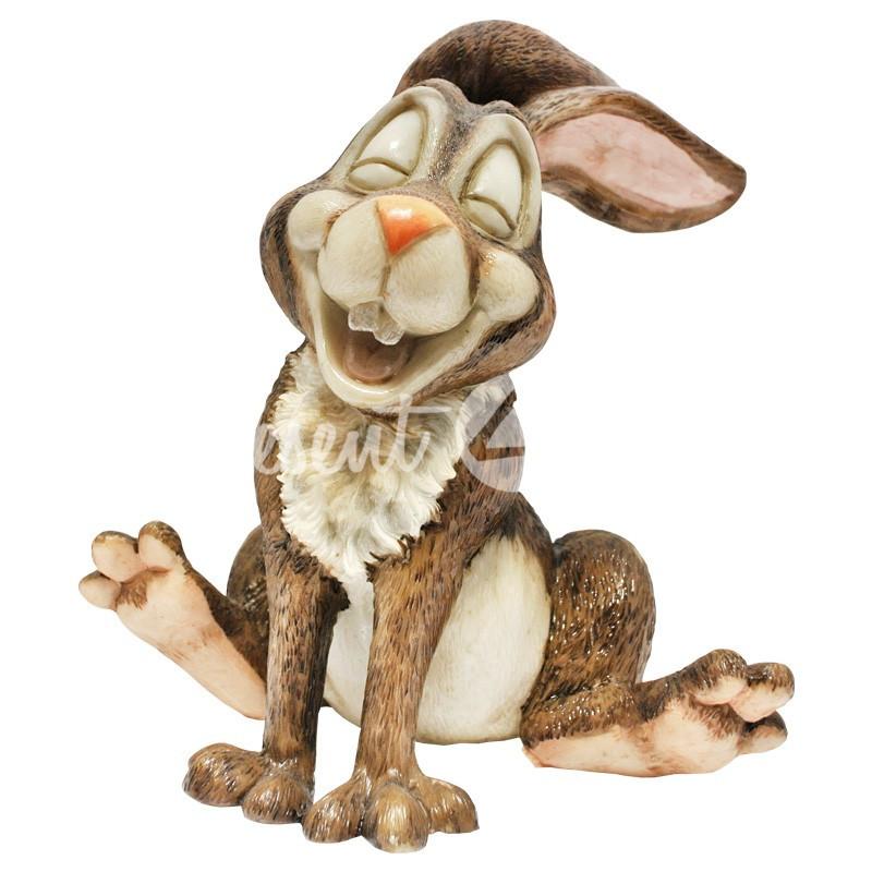 Фигурка-статуэтка коллекционная с керамики кролик «Зампер» Англия, h-19 см