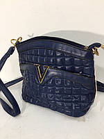 Сумочка Versace синяя 8031