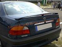 Спойлер на багажник для Toyota Avensis 1997-2003 седан