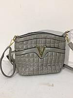 Сумочка Versace серая 8031