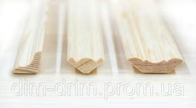 Плінтус дерев'яний ДІМ-ДРІМ WOOD