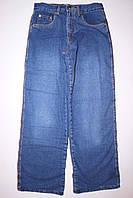 Подростковые джинсы для мальчика на флисе