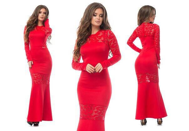 Изысканное женское платье длинны макси ткань *Дайвинг* 42, 44, 46 размер норма, фото 2