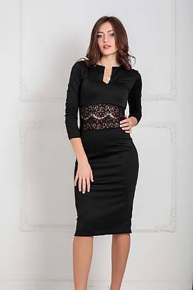 Жіноче вечірнє чорне плаття Milisen (XS-XXL)