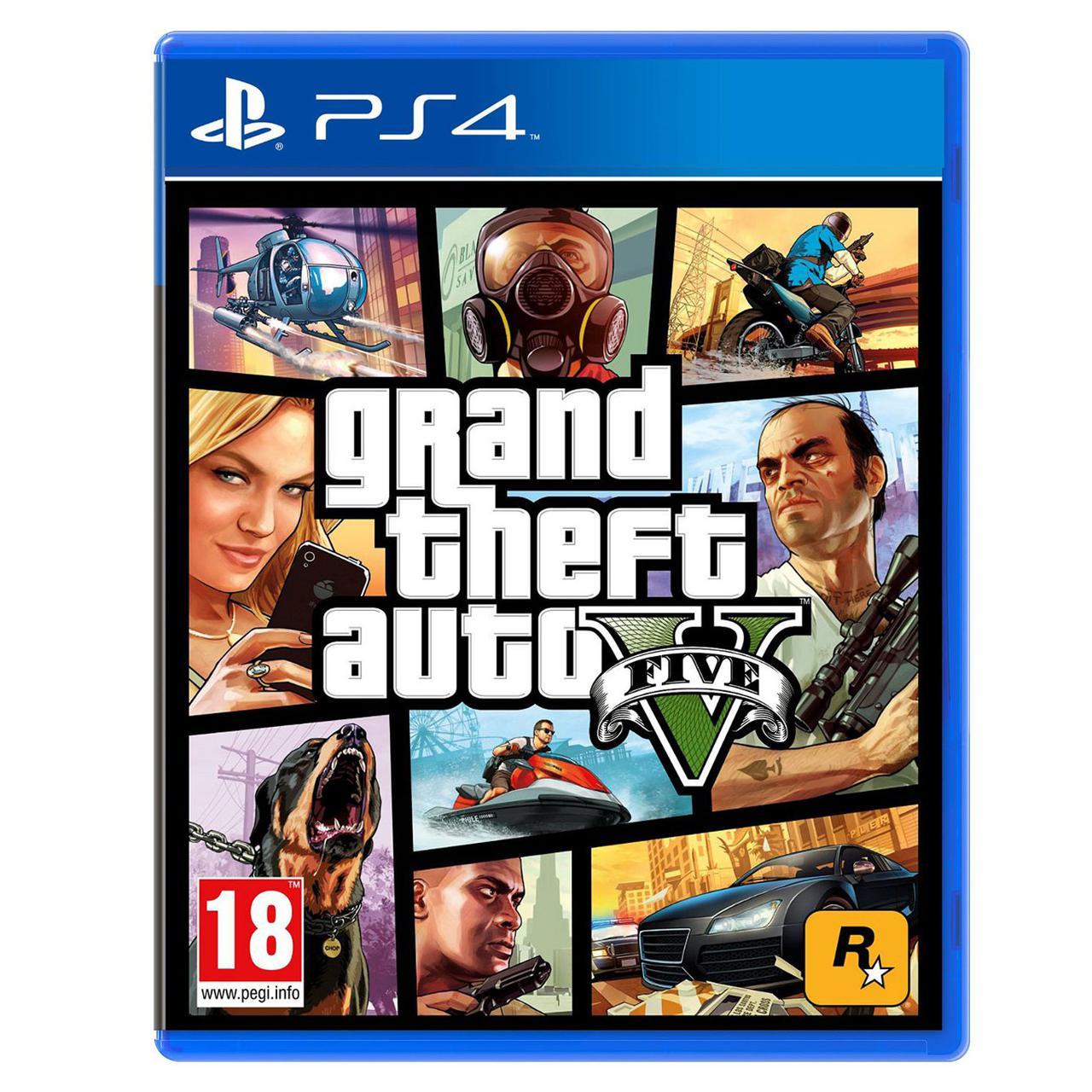 игра Ps4 Gta V для Playstation 4
