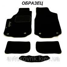 Ворсові килимки в салон Nissan Leaf 2012- (STINGRAY) FORTUNA BLACK