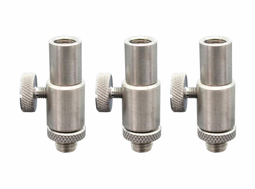 Конектор швидкозйомний для сигналізаторів Hirisi на різьбу, нержавіюча сталь
