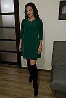 Платье женское Диадемка трапеция (слива)