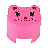 Детский розовый стульчик Elif plastik 314-1LF