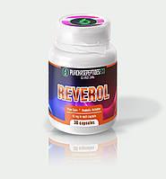 Реверол Reverol (30 capsules 15 mg) повышает уровень метаболической активности в скелетных мышцах