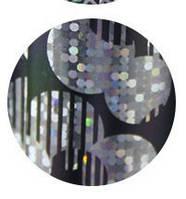 Фольга с голографическим эффектом для дизайна ногтей, маникюра, педикюра